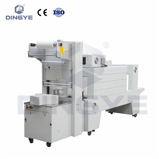 Semi-automatic sleeve wrapper packing machine