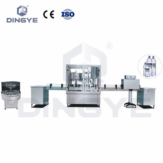 Production Line Of Washing, Filling And Capping Machine