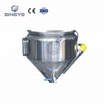 Double jacket heating hopper