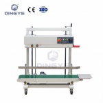 Vertical sold-inker coding band sealer